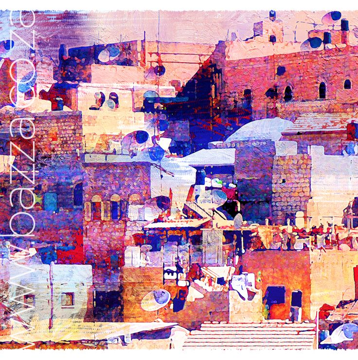 Old City of David :1 Digital decor at www.bazza.co.za