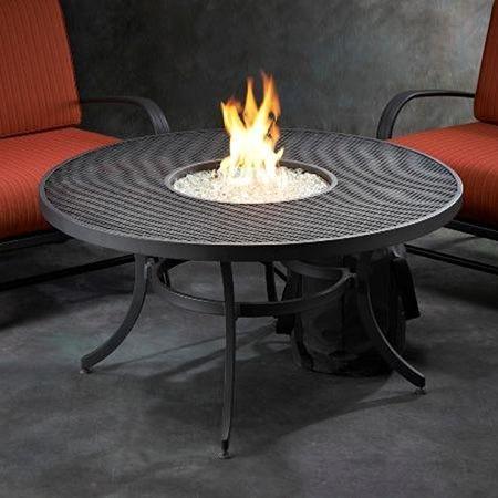 Nightfire Round Fire Pit Table