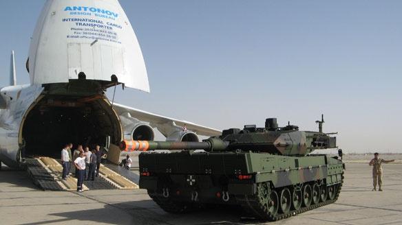 Canadian Forces Leopard 2 tank