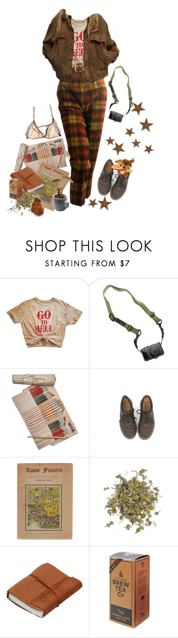 """""""hell is where I dreamt of you and woke up alone"""" by lilbumblebabe ❤ liked on Polyvore featuring Elle Macpherson Intimates, DSPTCH, Studio 36, Dr. Martens and Alpine"""