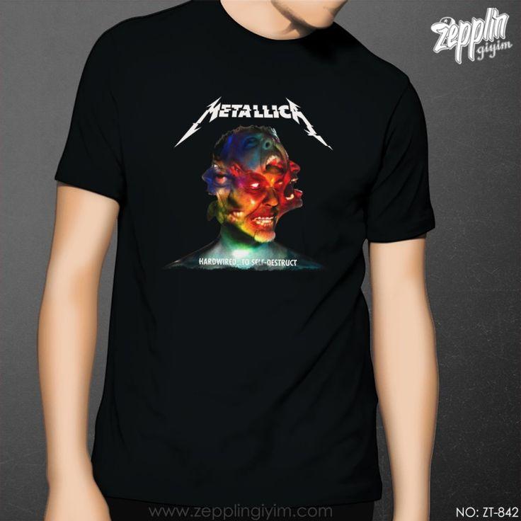 Metallica Hardwired Erkek Siyah Tişört