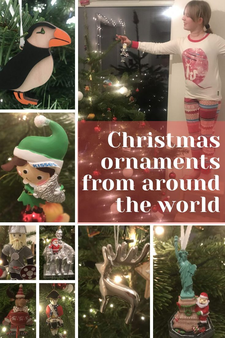 Decorate The Tree With Christmas Ornaments From Around The World Family Travel Christmas Ornaments London Christmas