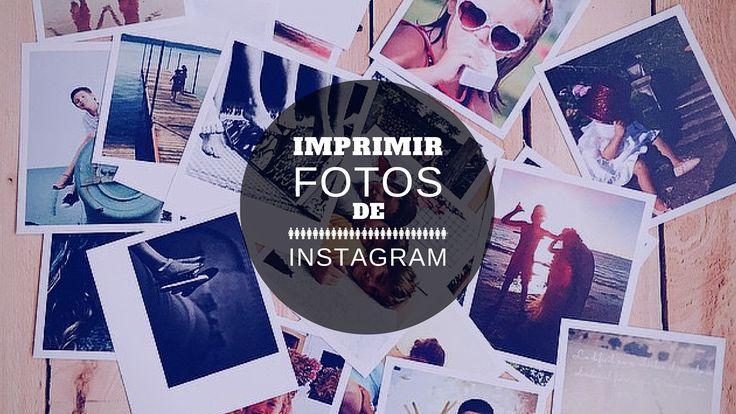 En este post os podéis encontrar diferentes lugares en los que Imprimir fotos de instagram, los que he probado y los que no. ¿alguna más?