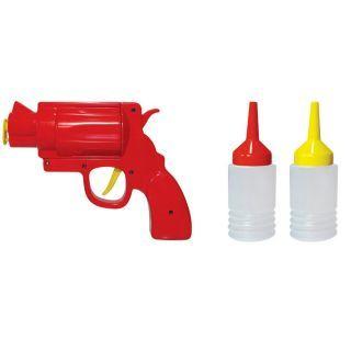 Hand Held Condiment Gun