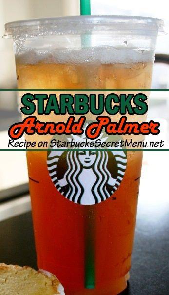 Try this #Starbucks version of a classic beverage, the Arnold Palmer! #StarbucksSecretMenu
