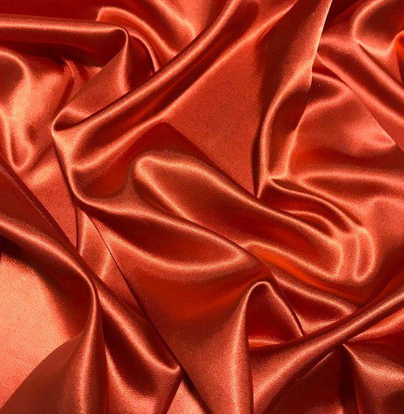 Soft Touch Satin Fabric Silk Look /& Feel Spandex Stretch 145cm Wide