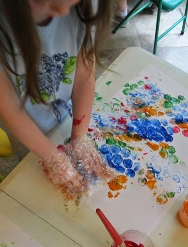 Resultado de imagem para atividades de arte com tinta para educação infantil