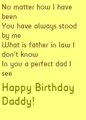 Father In Law Birthday Quotes Birthdays Pinterest Birthday