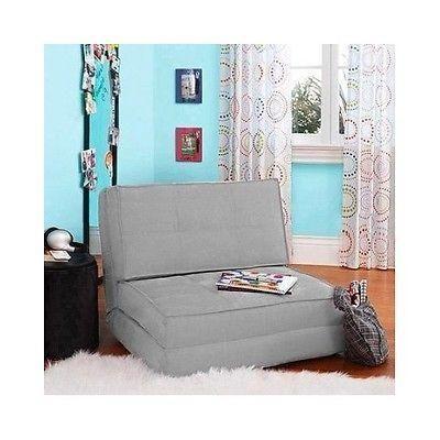 chair bed kids flip chairs sleeper lounge dorm teen bedroom children