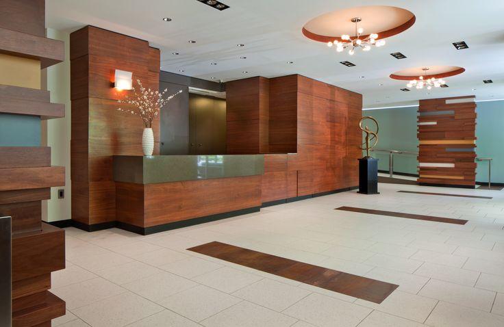 Amazing Renovation Apartment Building Lobby Interior