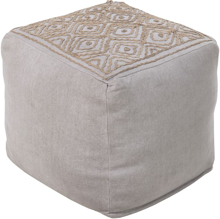 Awesome Buy Your Top Stitch Pouf In Ash Gray By Surya Here. The Top Stitch Pouf In  Ash Gray From Surya Is The Perfect Decor Accessory To Add To Any Childu0027s  Nursery, ...