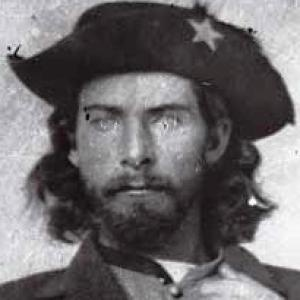 William T. Anderson, better known as Bloody Bill, was one of the deadliest and most brutal pro-Confederate guerrilla leaders in the American Civil War. Anderson led a band that targeted Union loyalists and Federal soldiers in Missouri and Kansas. Jesse and Frank James rode with him.