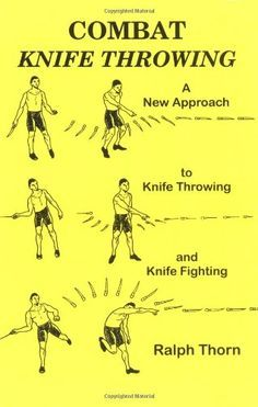No Spin knife throwing. The way i do it.