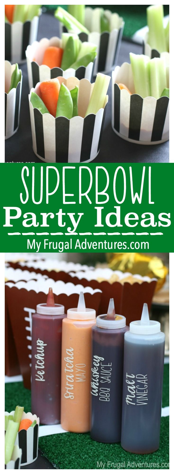 Fun and simple ideas for tailgating, football parties or Superbowl. #WorldMarketTribe #ad