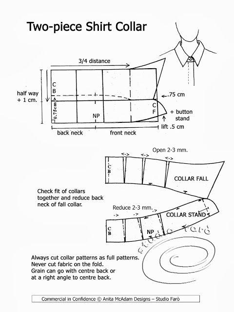 Shirt Collar and collar-stand curves