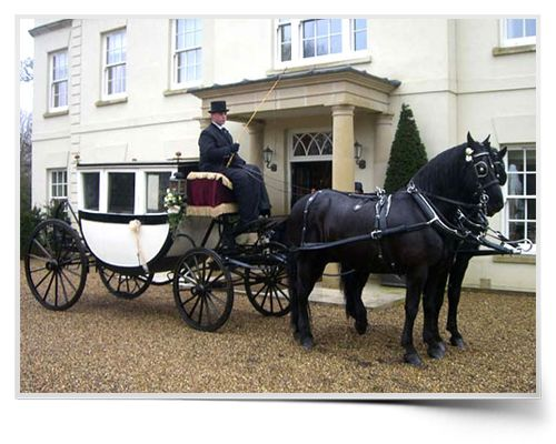 Supreme Carriages - highly professional and personal horse and carriage hire service - Royal Glass Coach - Cinderella Carriage.