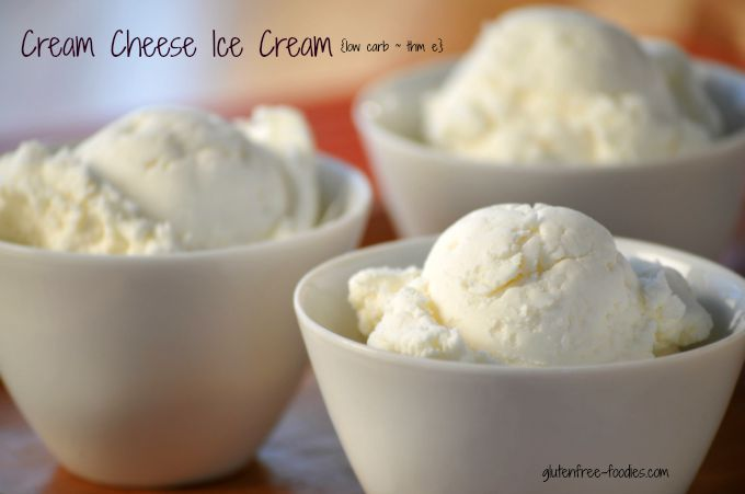 This cream cheese ice cream is so good and it satisfies my dessert craving. It is creamy, low carb, perfectly sweetened, and has even a little tang to it.