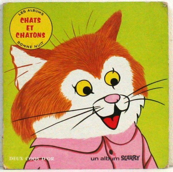 Chats et chatons - Richard Scarry 1972 www.lamerelipopette.com
