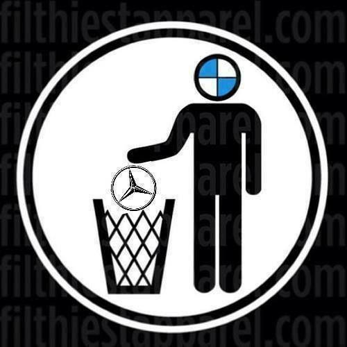 BMW trashes Mercedes