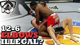 nice Jon Jones Only Loss: Why 12-6 Elbows are Illegal in MMA
