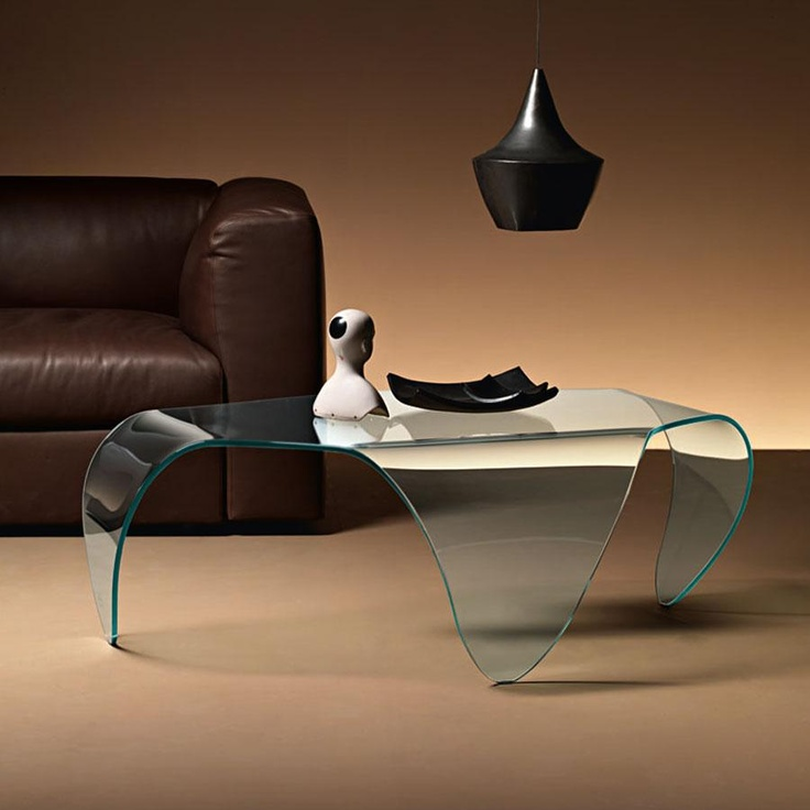 Manta Glass Coffee Table