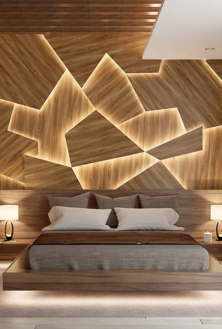 45 Beautiful And Modern Bedroom Decorating Ideas For This Year Page 34 Of 45 Lasdiest Com Daily Women Blog Modern Bedroom Decor Modern Bedroom Interior Luxurious Bedrooms
