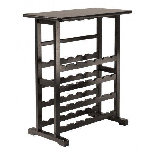 Wooden Wine Rack Glass Bottle Holder Cabinet Wood Bar Table Stand Shelf kitchen in Home & Garden, Kitchen, Dining & Bar, Kitchen Storage & Organization, Racks & Holders   eBay
