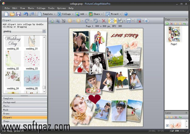 Get the Picture Collage Maker Pro software for windows for free download with a direct download link having resume support from Softpaz - https://www.softpaz.com/software/download-picture-collage-maker-pro-windows-182744.htm - just click the download button on that page