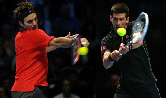 Roger Federer & Novak Djokovic In Semi-Finals: 2015 ATP World Tour Finals - https://movietvtechgeeks.com/roger-federer-novak-djokovic-in-semi-finals/-Roger Federer and Novak Djokovic are both through to the semifinals of the 2015 ATP World Tour Finals. Federer completed his sweep of Group Stan Smith on Thursday when he defeated Kei Nishikori