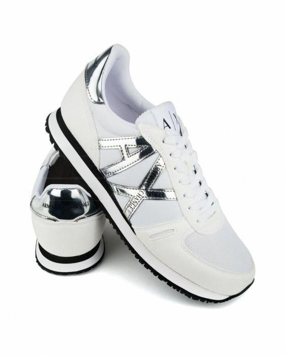 76fc610c7ea Zapatillas Armani Exchange - Blanco  tennis