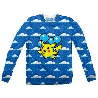 Flying Pikachu Youth Sweater