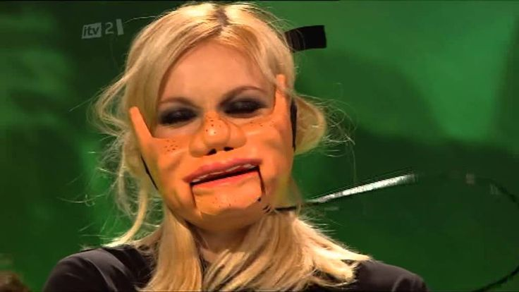 Puppet mask celebrity juice