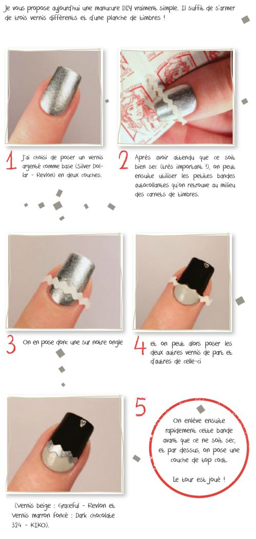 Nail art DIY Tutorial