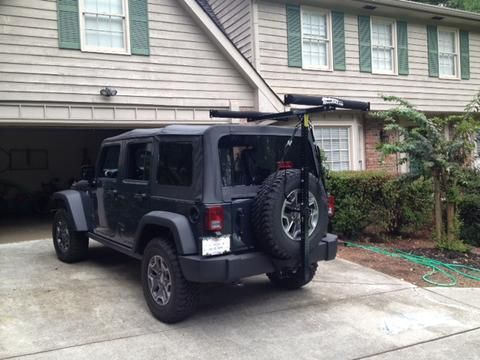 kitted roof tj wrangler racks jk jeep out gets jku sharpwrax rack