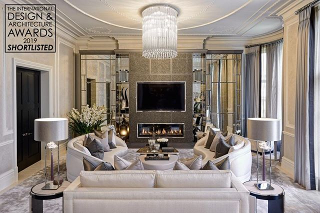 Our Grade Ii Listed Duplex Apartment In Kensington Has Been Shortlisted For The Internation Luxury Living Room Luxury Living Room Design Luxury Interior Design