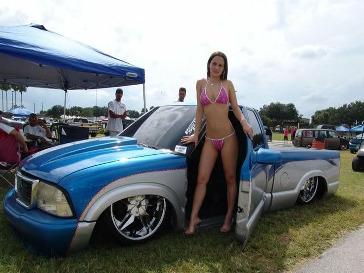 Bagged Gmc Sonoma With Bikini Model Bagged Pinterest