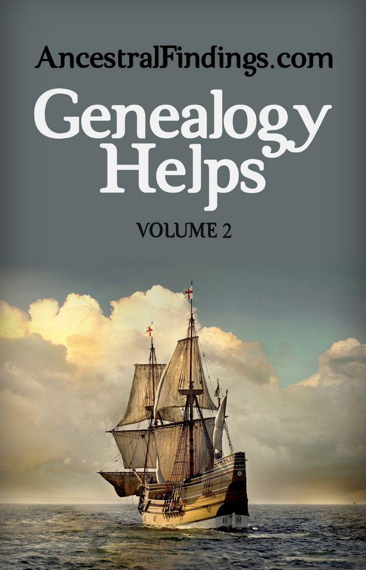 Genealogy Helps, Volume 2 (free Ebook
