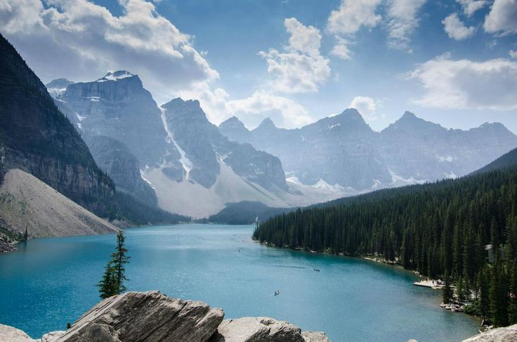 Can't wait to bask in THIS glory in just two months!!  |  Moraine Lake, Banff National Park