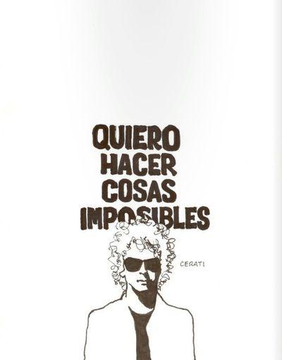 Doodle de Gustavo Cerati