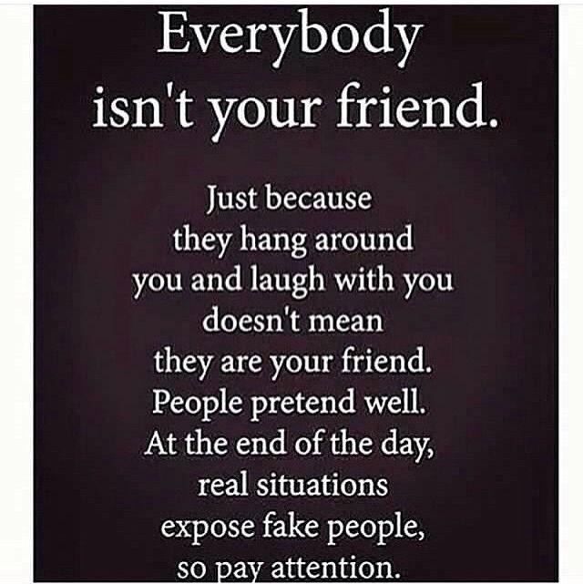 Shady friends