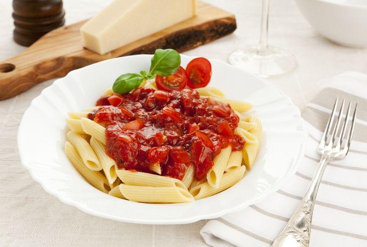 Паста с томатами и соусом Al'Basilico | Pasta Paolo - рецепты пасты и соусов к пасте