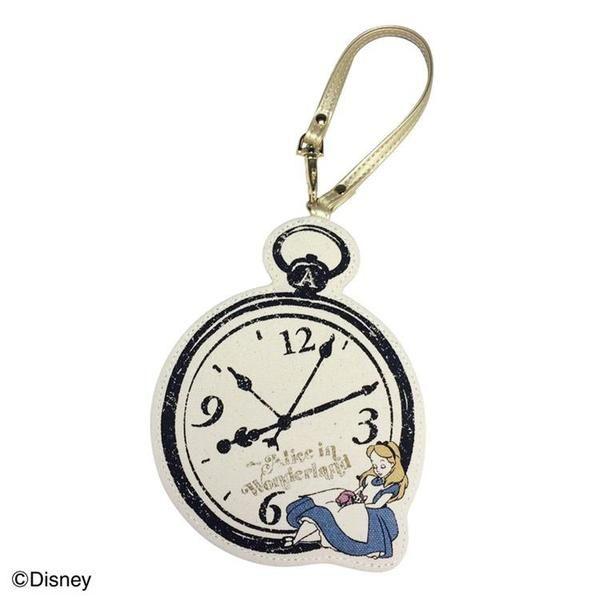 ディズニーパスケースアリス 時計