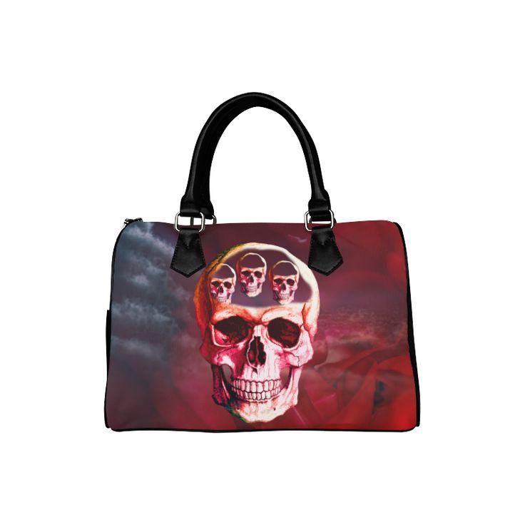 Funny Skull Boston Handbag (Model 1621)