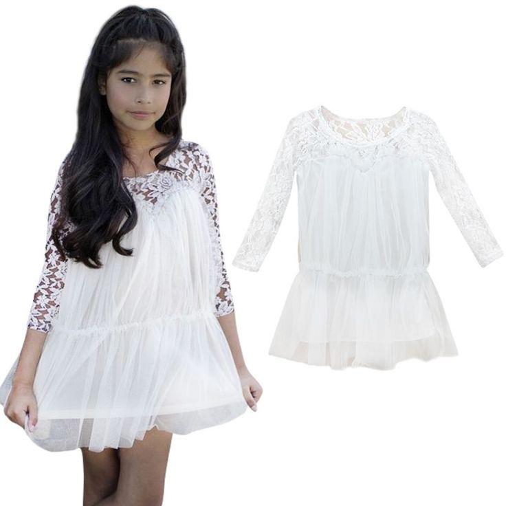 $4.53 (Buy here: https://alitems.com/g/1e8d114494ebda23ff8b16525dc3e8/?i=5&ulp=https%3A%2F%2Fwww.aliexpress.com%2Fitem%2FKids-Princess-Girl-Lace-Fancy-Dress-Long-Sleeve-Tops-Casual-Dress-Best%2F32531839756.html ) Kids Princess Girl Lace Fancy Dress Long Sleeve Tops Casual Dress Best for just $4.53