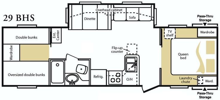 Tumbleweed tiny house floor plans xs house plans for Tiny house trailer floor plans