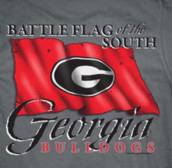Battle Flag of the South, the University of Georgia Bulldogs