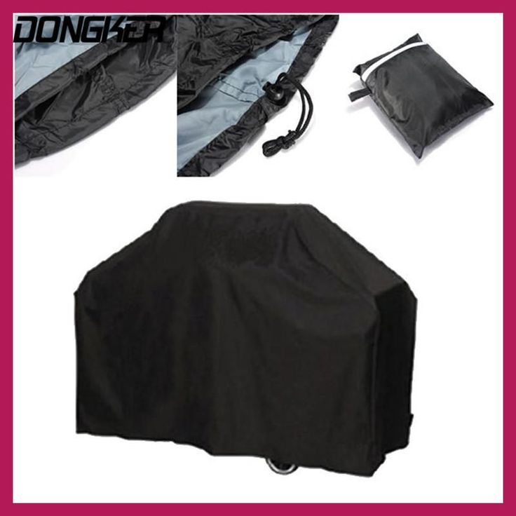 DONGKER Waterproof BBQ Grill Barbeque Cover Outdoor Rain Grill Barbacoa Anti Dust Protector Gas Electric Barbecue Covers