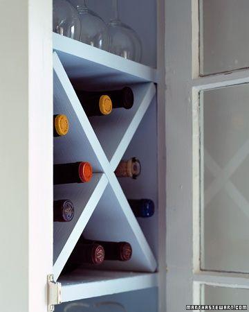 How to create a Compact Wine Rack