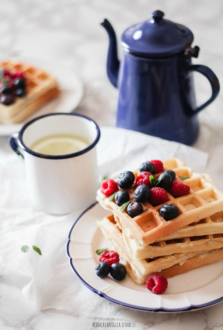 Waffle allo yogurt greco