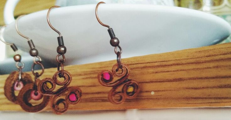 Cinnamon /  Earrings   15$